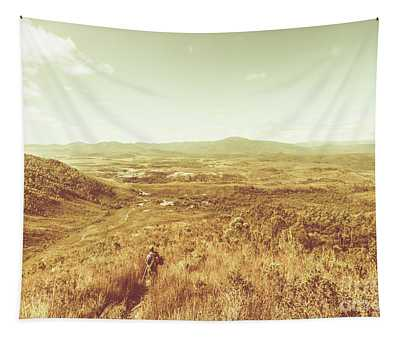 Rugged Bushland View Tapestry