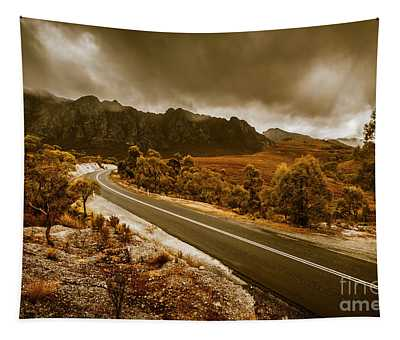 Rugged Rural Retreats Tapestry