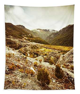 Rugged Valley Wilderness Tapestry