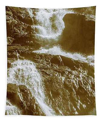 Rugged Water Rapids Tapestry