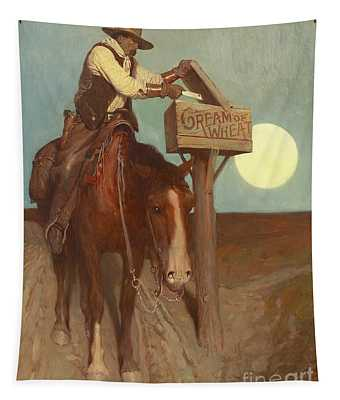 Rural Delivery Tapestry