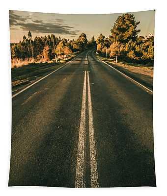 Rural Road In Gellibrand Lower Tapestry