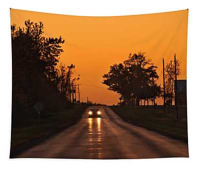 Rural Road Trip Tapestry