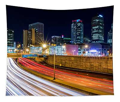 Rush Hour In Hartford, Ct Tapestry