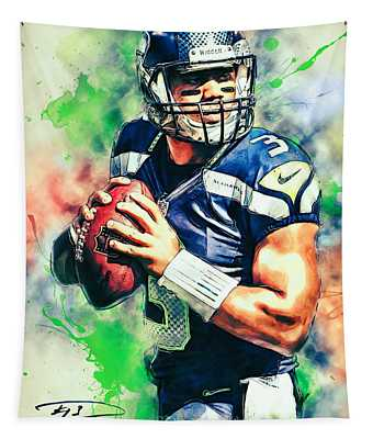 Russell Wilson Tapestry