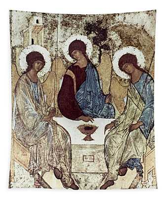 Russian Icons: The Trinity Tapestry