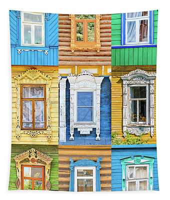Russian Windows Tapestry