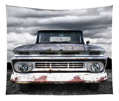 Rust And Proud - 62 Chevy Fleetside Tapestry