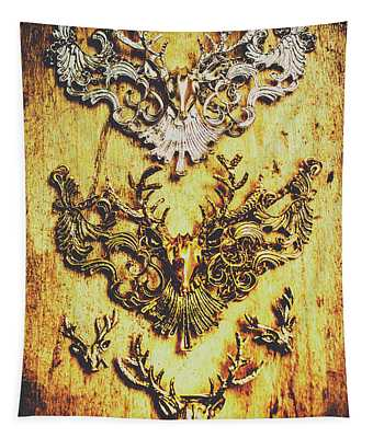 Rustic Country Style Jewels  Tapestry