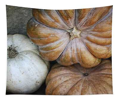 Rustic Pumpkins Tapestry