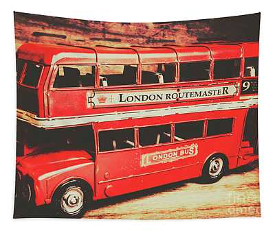 Rustic Routemaster Tapestry