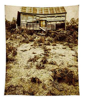 Rusty Rural Ramshackle Tapestry