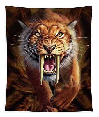Sabertooth Tapestry