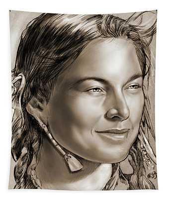 Sacagawea 2 Tapestry