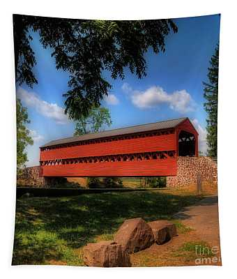 Sach's Covered Bridge Tapestry