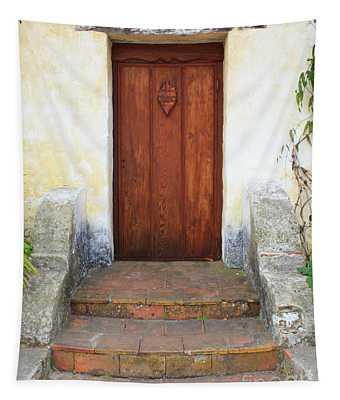 Sacred Heart Door Tapestry