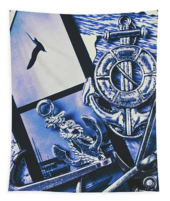 Sail Anchors And Boat Buoys  Tapestry