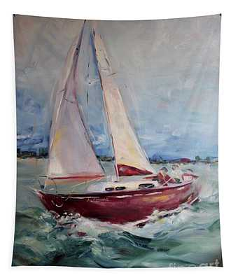 Sailing Away Tapestry