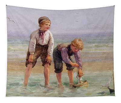 Sailing Boats  Tapestry