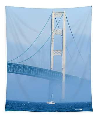 Sailing In The Fog Tapestry