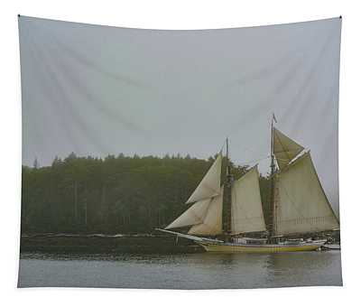 Sailing In The Mist Tapestry