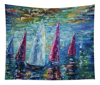 Sails To-night Tapestry