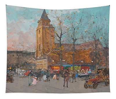 Saint-germain-des-pres, Paris Tapestry