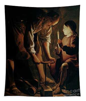 Saint Joseph The Carpenter  Tapestry