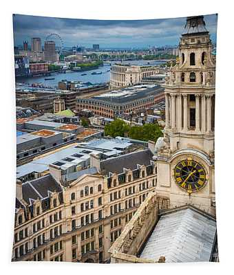 Saint Paul's Cathedral View Tapestry