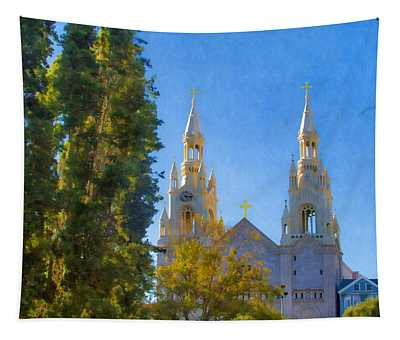 Saints Peter And Paul Church Tapestry