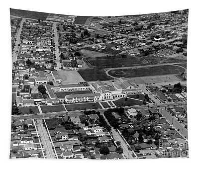 Salinas High School 726 S. Main Street, Salinas Circa 1950 Tapestry