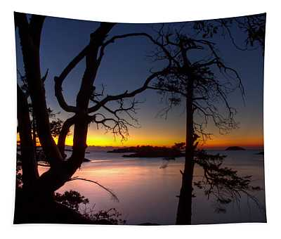 Salish Sunrise Tapestry