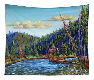 Salmon River - Stanley Tapestry