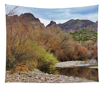 Salt River Pebble Beach Tapestry