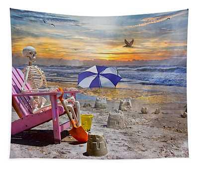 Sam's  Sandcastles Tapestry