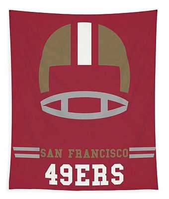 San Francisco 49ers Vintage Art Tapestry