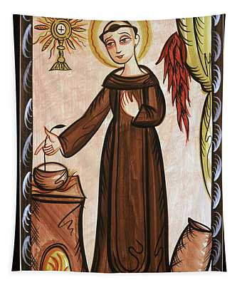 San Pascual Bailon - St. Pascal Baylon - Aopab Tapestry
