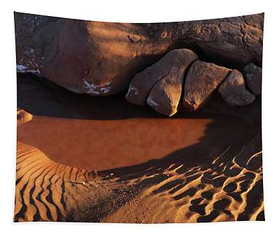 Sand Puddle Tapestry