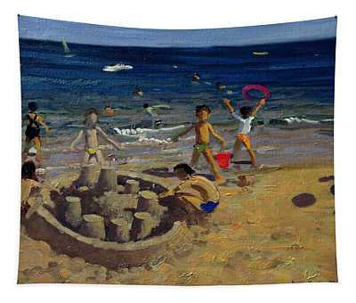 Sandcastle Tapestry