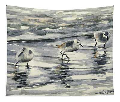 Sandpipers 3  12-11-17 Tapestry