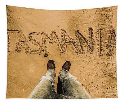 Sands Of Tasmania Tapestry