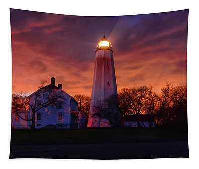 Sandy Hook Lighthouse Tapestry