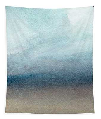 Sandy Shore- Art By Linda Woods Tapestry