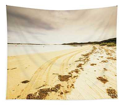 Sandy Tasmanian Shores Tapestry