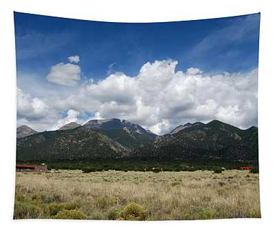 Tapestry featuring the photograph Sangre De Cristo Mountains 1 by Joseph R Luciano