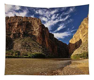 Santa Elena Canyon 1 Tapestry