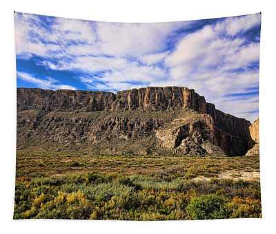 Santa Elena Canyon 4 Tapestry