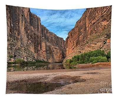 Santa Elena Canyon Sunrise Tapestry