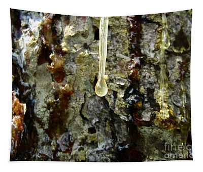 Tapestry featuring the photograph Sap Drip by Robert Knight