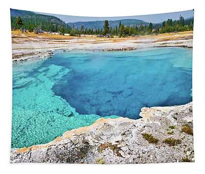 Sapphire Pool, Biscuit Basin Tapestry